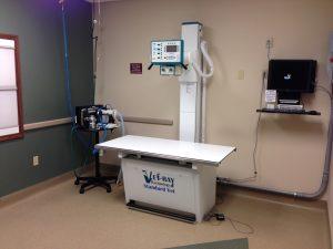 X-ray Room at Dupont Vet Clinic Fort Wayne