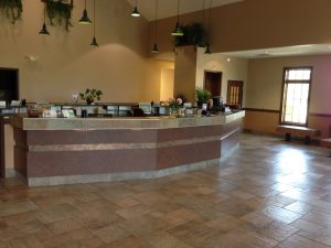 Reception Desk at Dupont Vet Clinic Fort Wayne
