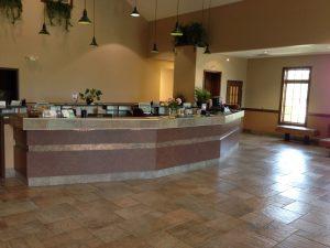 Reception Desk at Dupont Vet Clinic Fort Wayne